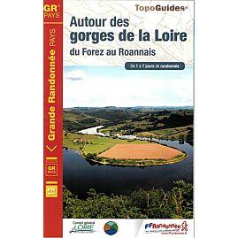 420 AUTOUR DES GORGES DE LA LOIRE ED.FFRP