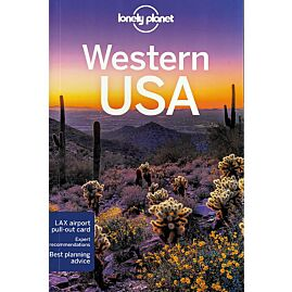 WESTERN USA LONELY PLANET EN ANGLAIS