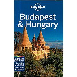 BUDAPEST ET HUNGARY L.PLANET EN ANGLAIS