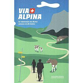 VIA ALPINA TRAVERSEE DES ALPES 20 ETAPES