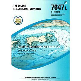 7647L THE SOLENT ET SOUTHAMPTON WATER