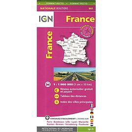 901 FRANCE MAXI FORMAT ECHELLE 1.1M