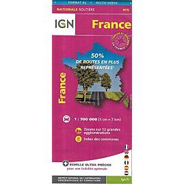 975 FRANCE XL RECTO VERSO ECHELLE 1.700.000