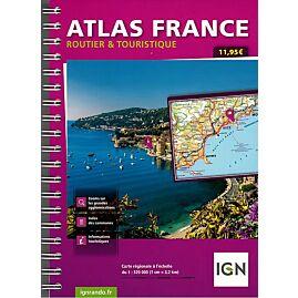 ATLAS ROUTIER TOURISTIQUE FRANCE