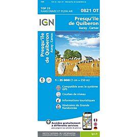 TOP 25 0821 OT PRESQU ILE DE QUIBERON 1 25000