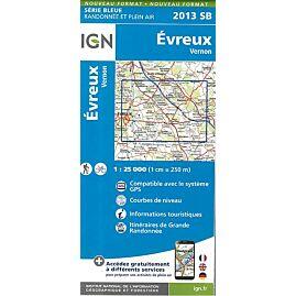 2013 SB EVREUX 1.25.000
