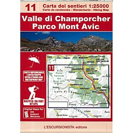 11 VALLE DI CHAMPORCHER P.MT AVIC 1.25.000