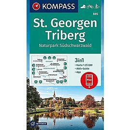 885 ST GEORGEN TRIBERG 1 25 000