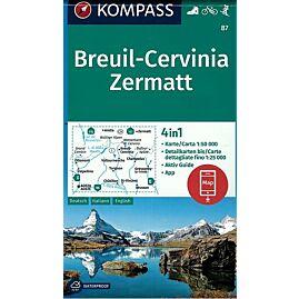87 BREUIL CERVINIA ZERMATT 1.50.000