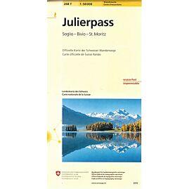 268T JULIERPASS  ECHELLE 1.50.000