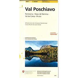 469T VAL POSCHIAVO ECHELLE 1.50.000