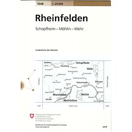 1048 RHEINFELDEN ECHELLE 1.25.000