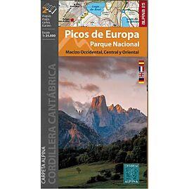 PICOS DE EUROPA ECHELLE 1.25.000