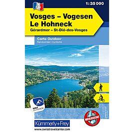 4 VOSGES LE HOHNECK ECHELLE 1 35 000