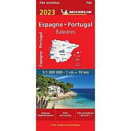 734 ESPAGNE PORTUGAL  000 000