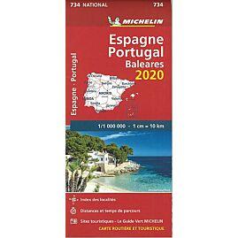 734 ESPAGNE PORTUGAL 1.1.000.000