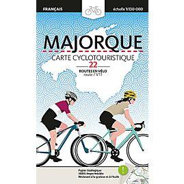 MAJORQUE CARTE CYCLOTOURISTIQUE 1 130 000