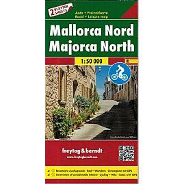 MALLORCA NORD SUD + IT.VELO 1.50.000 E.FREYTAG