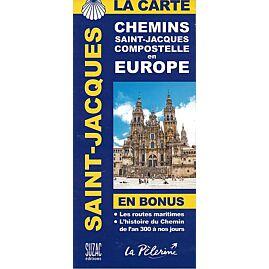 ST JACQUES COMPOSTELLE EN EUROPE