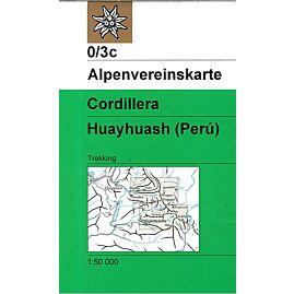 0.3C CORDILLERA HUAYHUASH 1.50.000