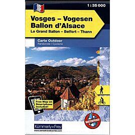 3 VOSGES BALLON ALSACE ECHELLE 1 35 000