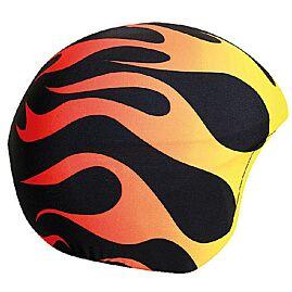 FLAMMES SUR-CASQUE