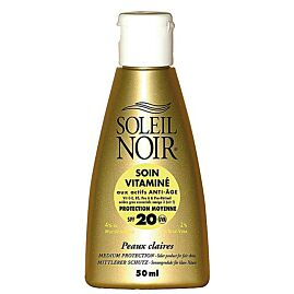 CREME SOLAIRE SOIN VITAMINE IND 20