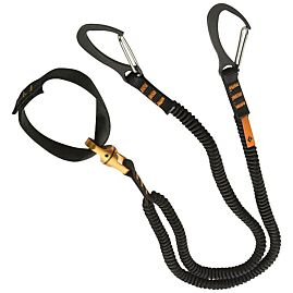 SPINNER LEASH DOUBLE SANGLE PIOLET