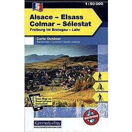5 ALSACE COLMAR SELESTAT ECHELLE 1 50 000