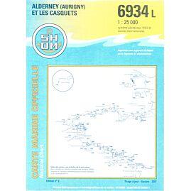 6934L ALDERNEY ET LES CASQUETS