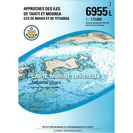6955L APPROCHES DES ILES DE TAHITI