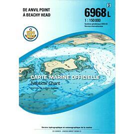 6968L DE ANVIL POINT A BEACHY HEAD