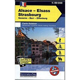 7 ELSASS STRASBOURG ECHELLE 1 50 000