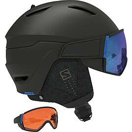 CASQUE A VISIERE DRIVER CA BLACK cat 3+1