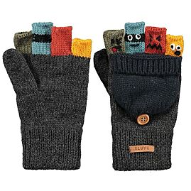 GANT DE VILLE PUPPETEER BUMGLOVES DARK HEATHER