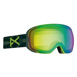 MASQUE DE SKI M2 DEAR MTN  SMOKE/SONAR GREEN CAT 4