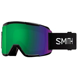 MASQUE DE SKI SQUAD BLACK GREEN MIROR CAT 2
