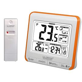 THERMOMETRE ALERTES  WS6811 BLANC/ORANGE