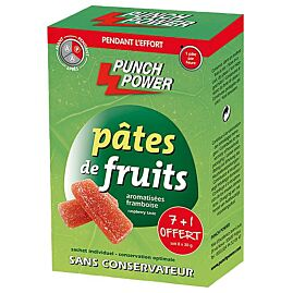 BARRE PATES DE FRUITS FRAMBOISE X 8