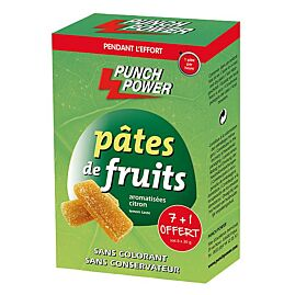 BARRES PATES DE FRUITS CITRON X 8