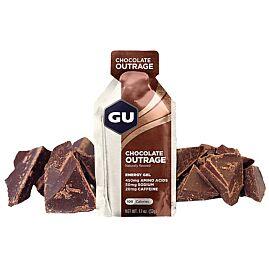 GEL ENERGY CHOCOLATE OUTRAGE + CAFEINE