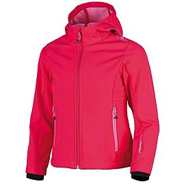 GIRL WARM HOOD SOFTSHELL