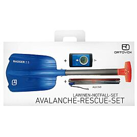 AVALANCHE RESCUE SET 3+  (3++pelle+sonde)