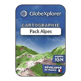 GLOBEXPLORER 1/25e PACK ALPES FRANCE/SUISSE/ITALIE