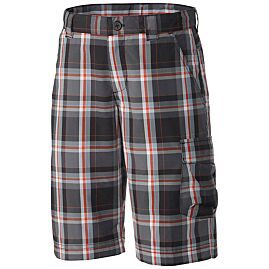 SILVER RIDGE PLAID BOY SHORT