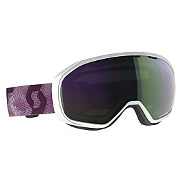 MASQUE DE SKI FIX WHITE CASSIS PINK CAT 2