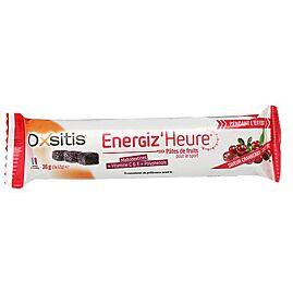 BARRES PATES  DE FRUITS CRANBERRY/GRIOTTE ENERGIZE