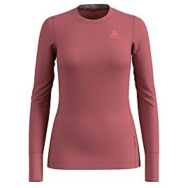 T-SHIRT ML NATURAL MERINO WARM CREW NECK W