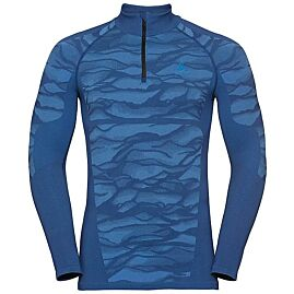 T-SHIRT ML DEMI ZIP PERFORMANCE BLACKCOMB 1/2 ZIP