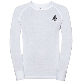 TS ML COL ROND ACTIVE WARM ECO KIDS BL TOP CREW NE